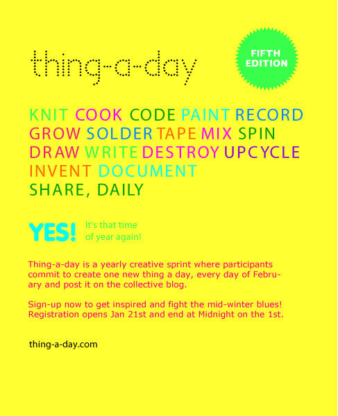 thing a day