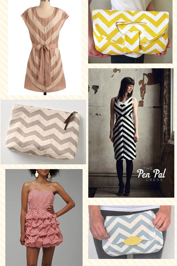 chevron zig-zag haine handmade