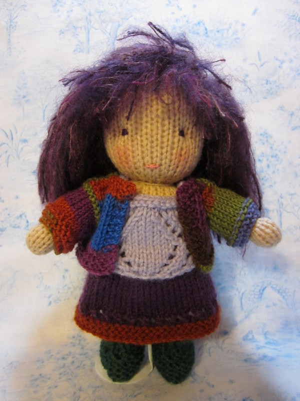 """Beth Webber """"…with needle and hook, and made with love by hand ..."""