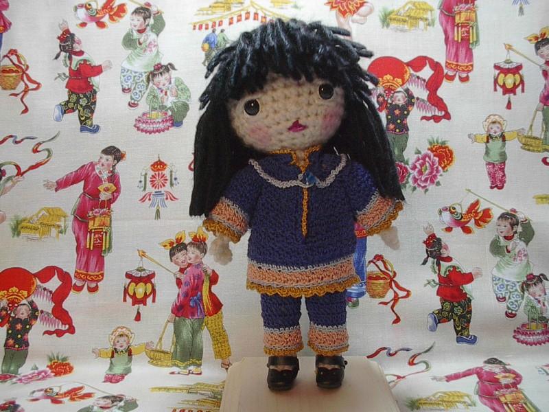 Mini Free Spirit doll, Beth's own design