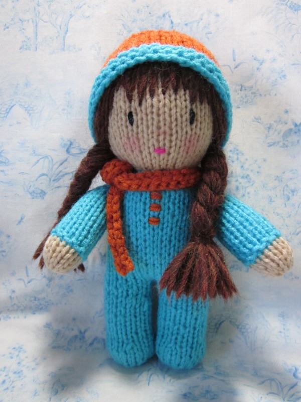 Knitting Pattern To Make A Doll : Beth Webber ??with needle and hook, and made with love by ...