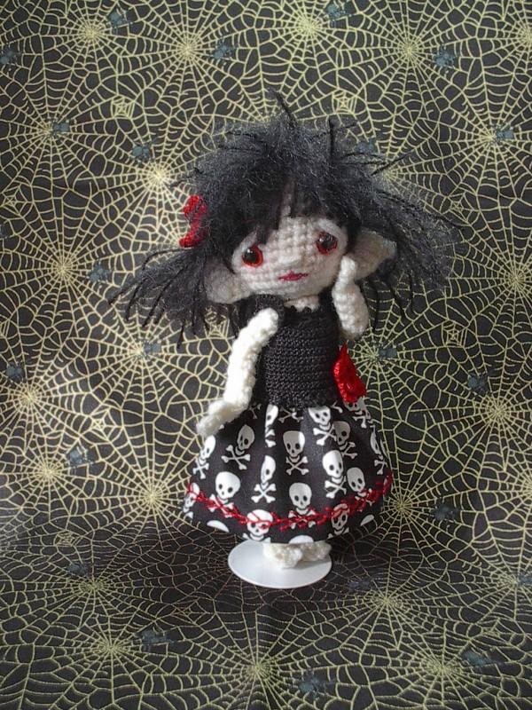 Pocket Spirit doll, Beth's own design