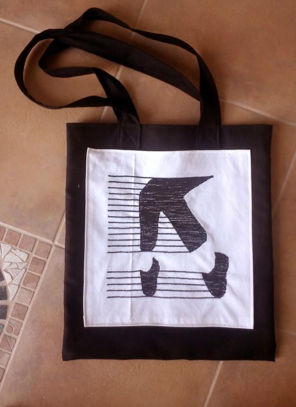 geanta logo mj Arina Balerina