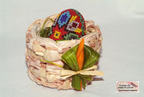 """""""Coşuleţ de Paşti(pentru un ou)"""""""