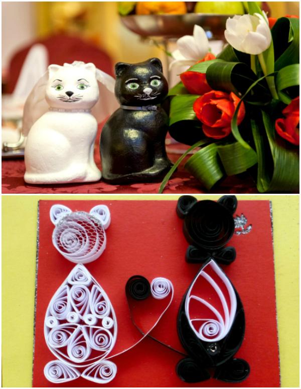pisicute handmade nunta