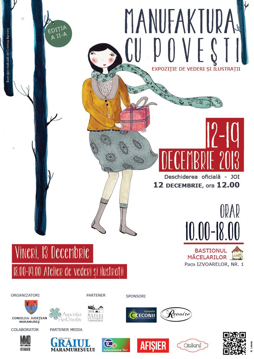 Afis Manufaktura cu Povesti-ed II