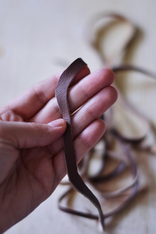 DIY Leather Cord Bracelet20