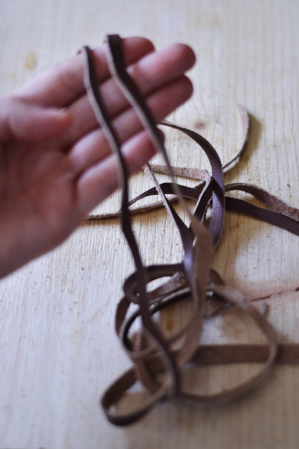 DIY Leather Cord Bracelet21