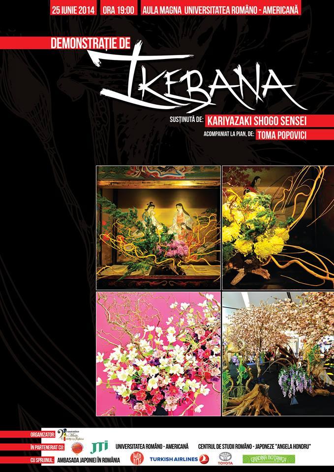 Ikebana, celebrata prin vizita lui Shogo Kariyazaki | Revista ...
