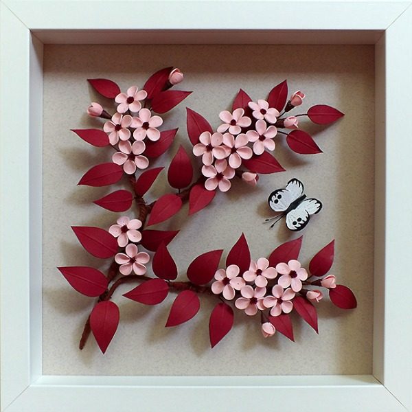 quilled-cherry-plum-blossom-in-a-shadowbox-frame