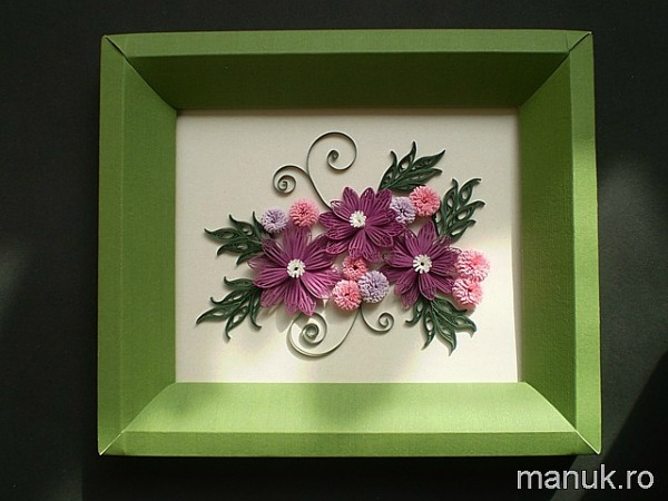 quilled-simple-flower-arrangement