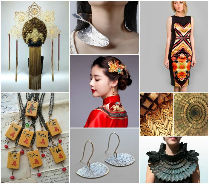 Colaj inspiratie asiatica