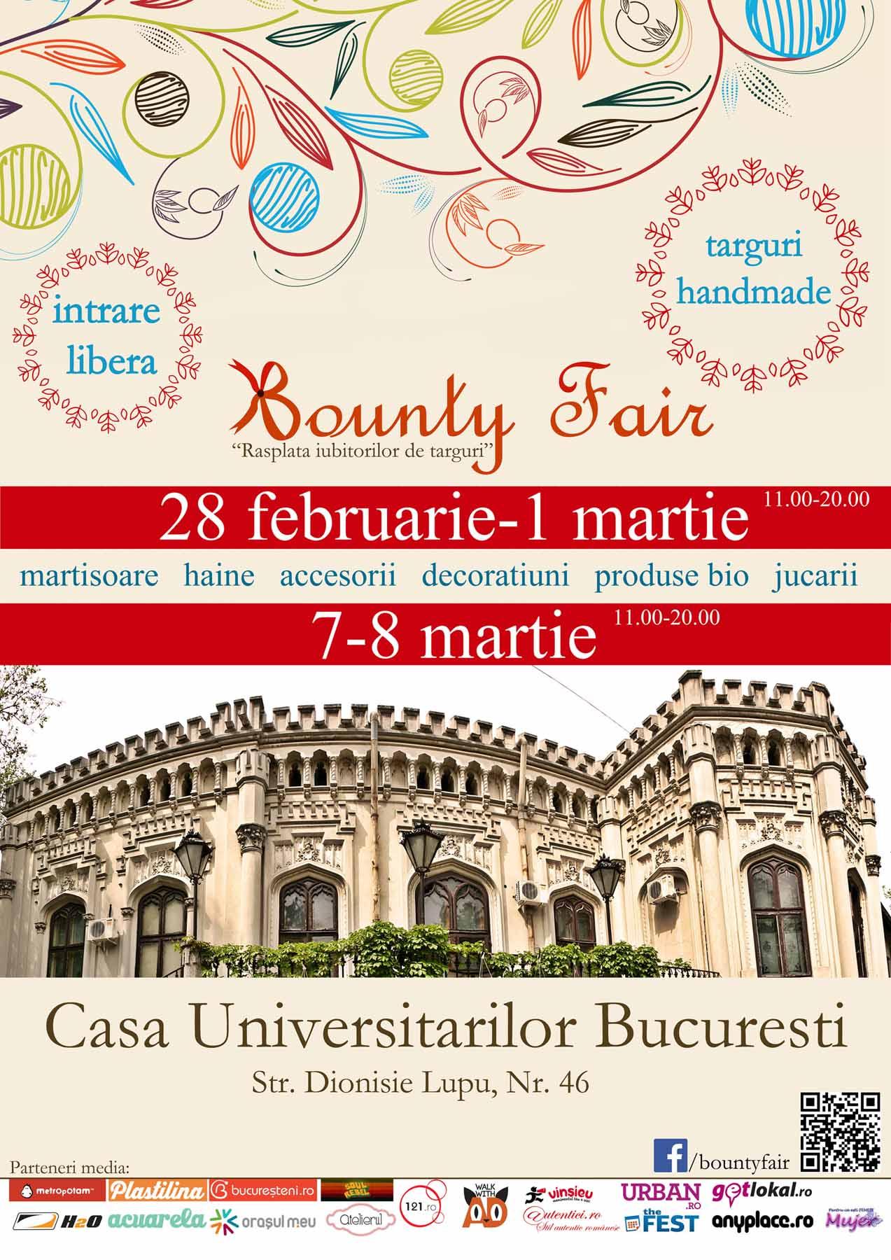 afis Bounty Fair-editii de martie-mic