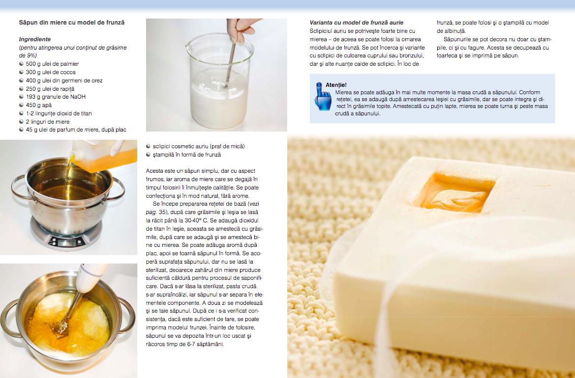 recenzie revista atelierul prepararea sapunului de casa