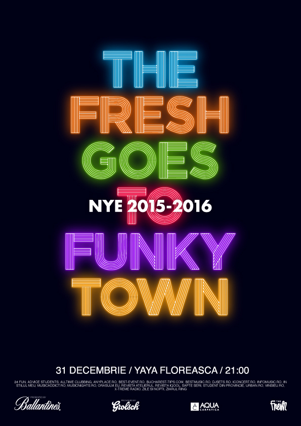 The Fresh goes to Funky Town - NYE'2016