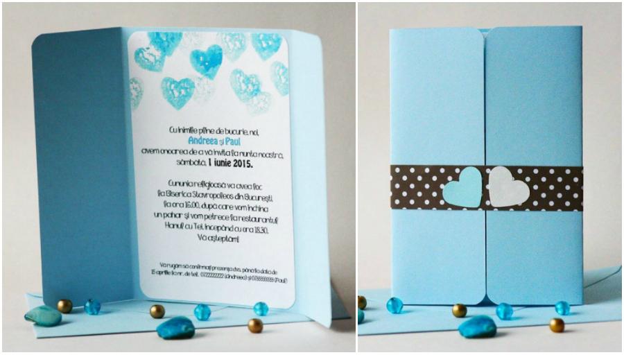 Invitații De Nuntă între Handmade Natură și Culoare Revista